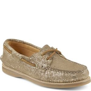 Sperry Top-Sider Gold Cup Metallic Gold Size 5.5